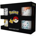 Hrnek Pokémon - Espresso Sada Eevee Evolutions- 4 ks