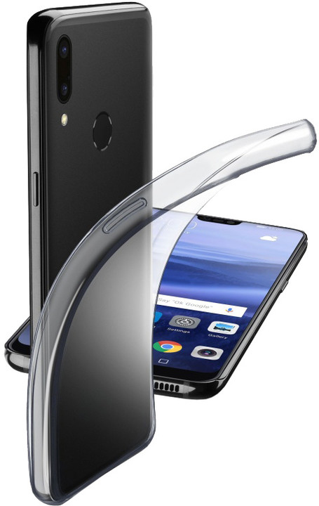 CellularLine extratenký zadní kryt Fine pro Huawei P20 Lite, bezbarvý