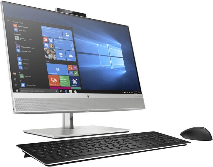 HP EliteOne 800 G6 24, stříbrná