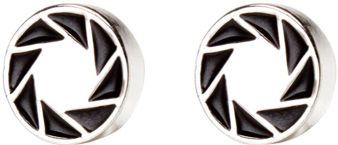 Náušnice Portal 2 - Aperture 80s Logo
