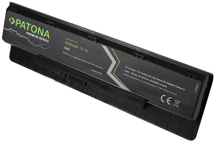 Patona baterie pro ntb ASUS N46/N56 5200mAh Li-Ion 11,1V PREMIUM