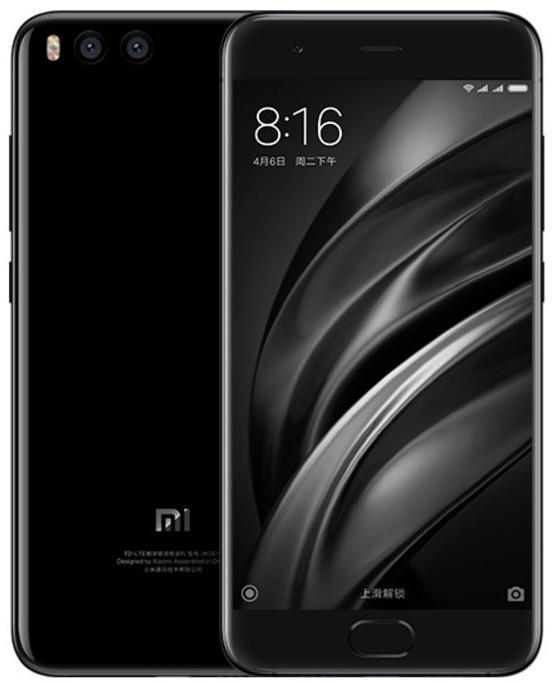 Xiaomi Mi6, 64GB, černá
