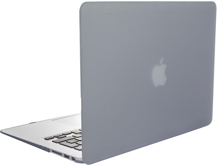 "EPICO plastový kryt pro MacBook Air 13"" 2018 MATT (A1932), šedá"
