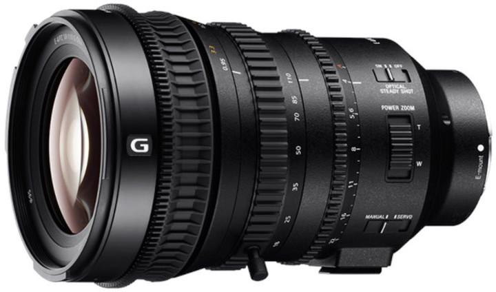 Sony E PZ 18–110mm f/4 G OSS