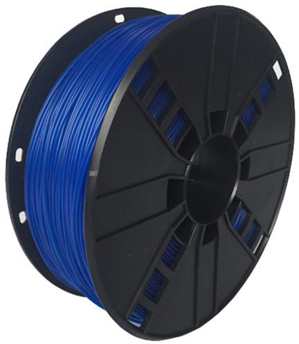 Gembird tisková struna (filament), flexibilní, 1,75mm, 1kg, modrá