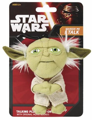 Plyšák Star Wars - Mini mluvící Yoda, 10 cm