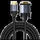 BASEUS kabel Enjoyment Series HDMI - VGA, 2m, šedá