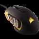 CORSAIR Gaming Scimitar PRO RGB, černá/žlutá