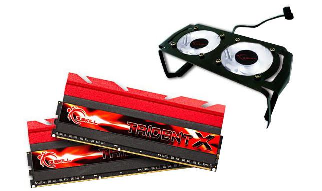 G.SKill TridentX 8GB (2x4GB) DDR3 2666 CL10