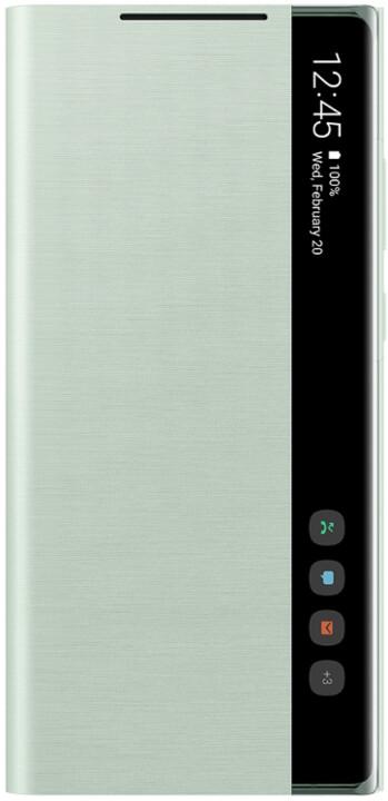 Samsung flipové pouzdro Clear View pro Samsung Galaxy Note20, mint