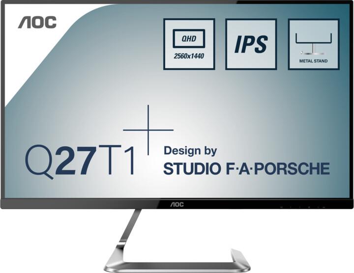 """AOC Q27T1 - LED monitor 27"""""""