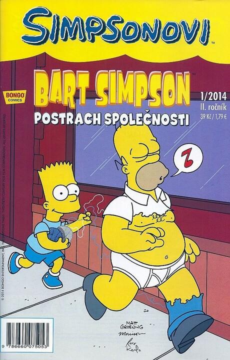 Komiks Bart Simpson: Postrach společnosti, 1/2014