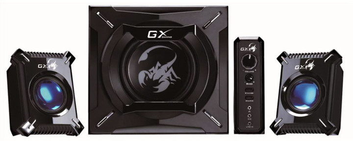 Genius SW-G2.1 2000, černá