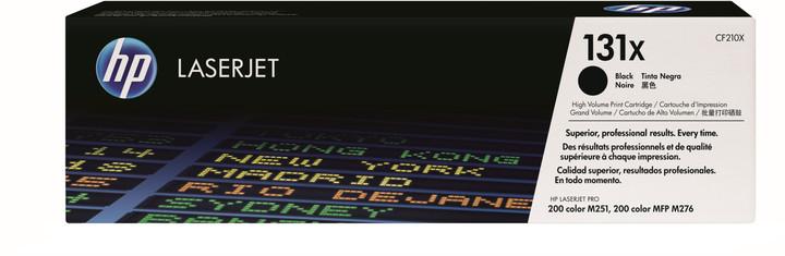 HP CF210X, černá
