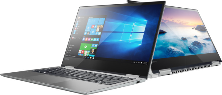 Lenovo Yoga 720-13IKB, platinově-stříbrná