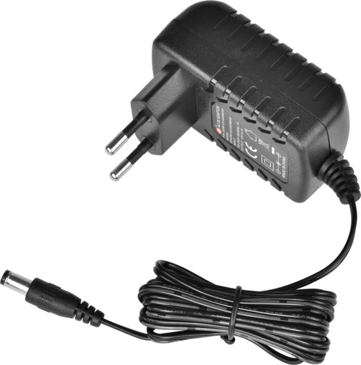 Virtuos zdroj pro zákaznické displeje 12V/1A s LED diodou