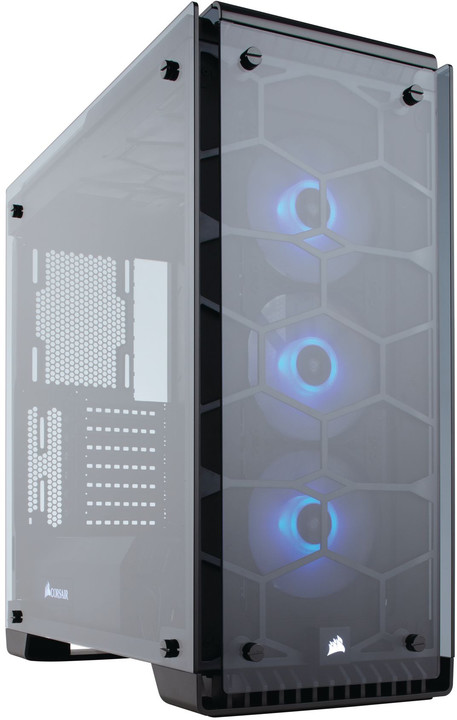 Corsair Crystal Series 570X RGB, tempered glass