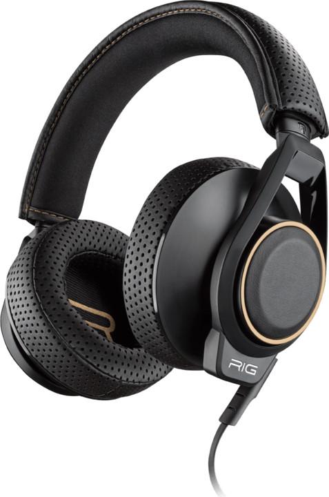 Plantronics RIG 600, černá