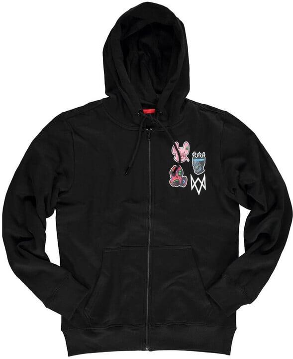 Mikina Watch Dogs: Legion - Logo (L)
