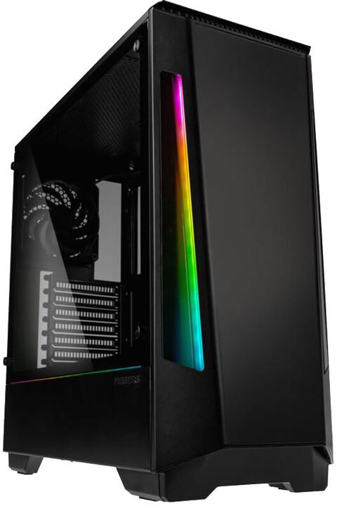 PHANTEKS Eclipse P360X, Tempered glass, RGB, černá