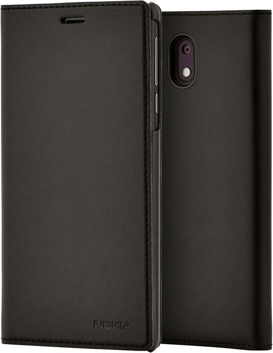 Nokia Slim Flip Case CP-303 for Nokia 3, černá