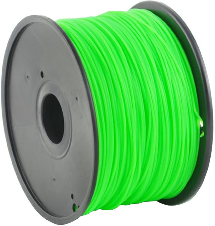 Gembird tisková struna (filament), HIPS, 1,75mm, 1kg, zelená