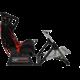 Next Level Racing GTultimate V2 Racing Simulator Cockpit, černá/červená