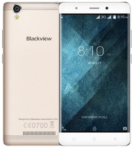 iGET BLACKVIEW A8 - 8GB, Dual SIM, zlatá