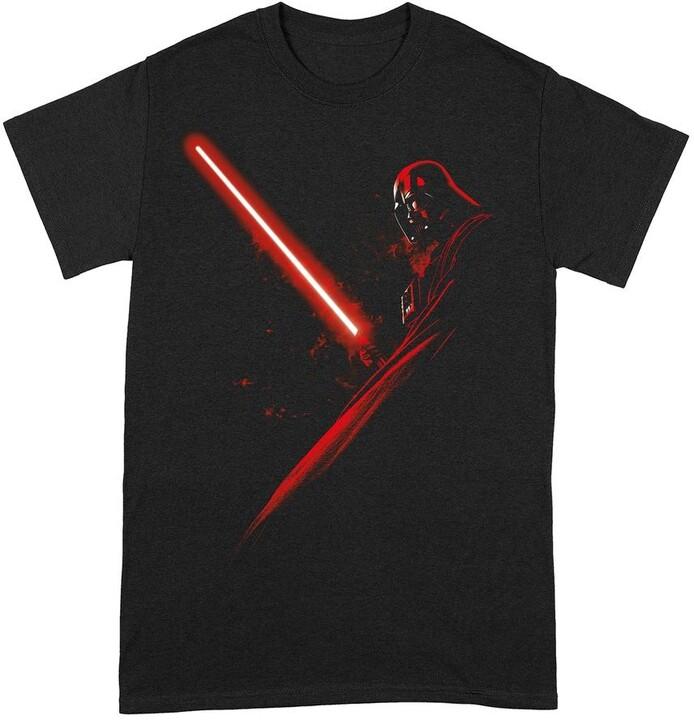Tričko Star Wars - Darth Vader Lightsaber (S)