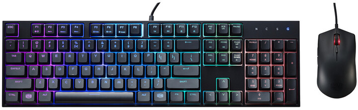 CoolerMaster MasterKeys Lite L, RGB LED, US