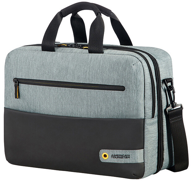 "Samsonite American Tourister CITY DRIFT 3-WAY BOARDING BAG 15.6"", černá/šedá"