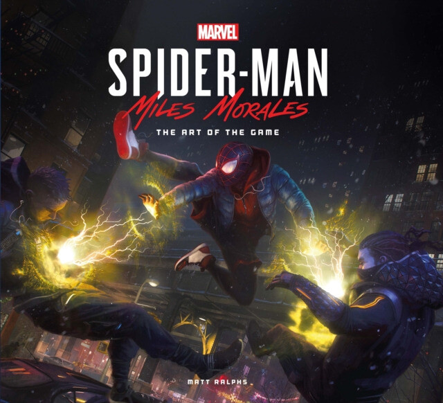 Kniha Marvels Spider-Man: Miles Morales - The Art of the Game