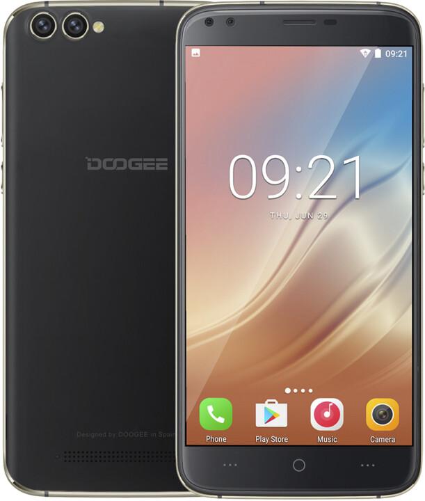 DOOGEE X30, 16GB, černá