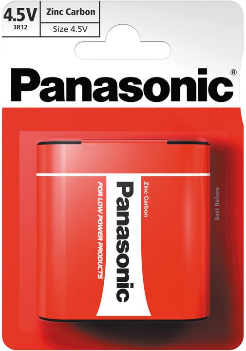 Panasonic baterie 3R12 1BP 4,5V Red zn