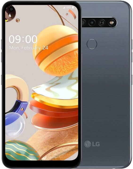 LG K61, 4GB/128GB, Titan