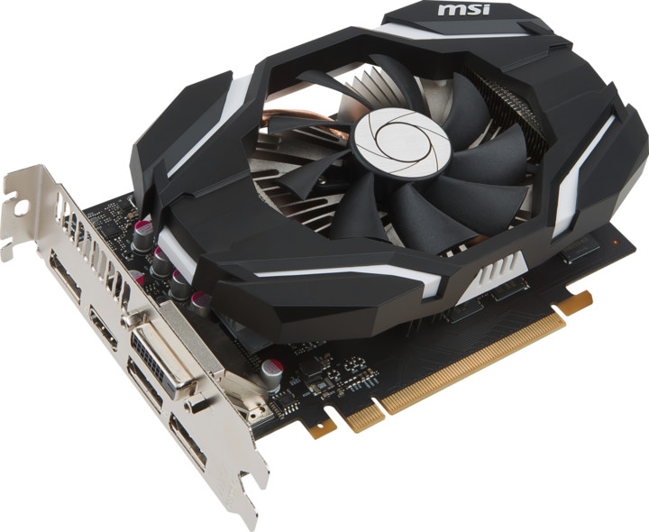 MSI GeForce GTX 1060 6G OC, 6GB GDDR5