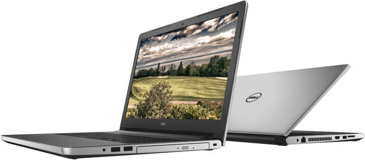 Dell Inspiron 15 (5558), stříbrná