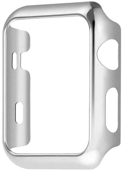 COTEetCI ochranný kryt pro Apple Watch, PC, 42mm, stříbrná