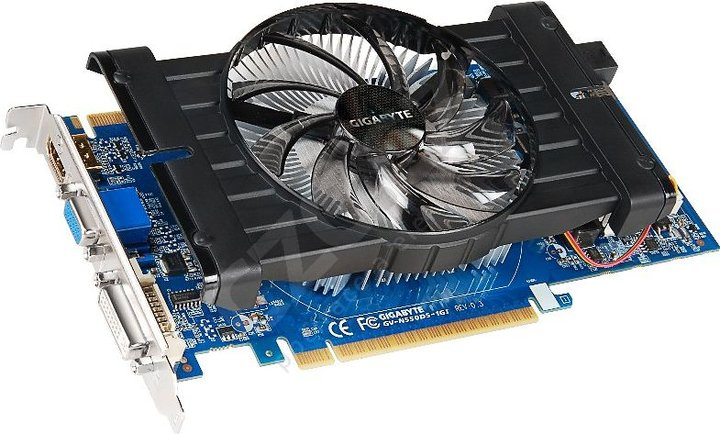 GIGABYTE GTX 550 Ti HD Experience Series 1GB