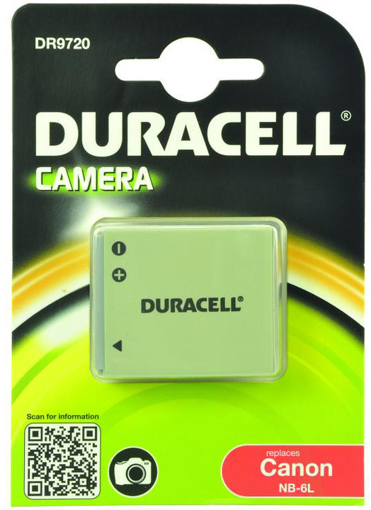 Duracell baterie alternativní pro Canon NB-6L