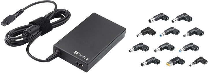 Sandberg Laptop AC Adapter Mini 100W EU