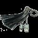 MIZOO USB/lightning přívěsek X900, stříbrný