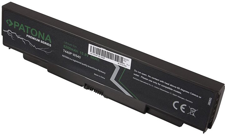 Patona baterie pro Lenovo L440/T440p 5200mAh Li-Ion 10,8V 45N1145 Premium