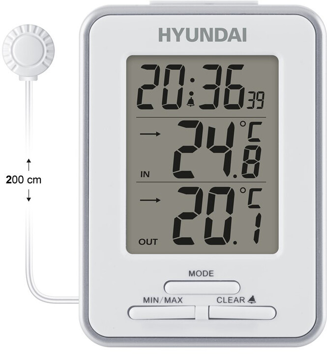 Hyundai WS 1021, bílá