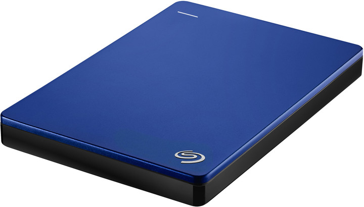 Seagate BackUp Plus Slim Portable 2TB, modrá