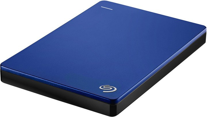 Seagate BackUp Plus Slim Portable 1TB, modrá