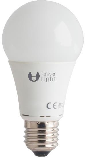 Forever LED žárovka A60 E27 10W, studená bílá