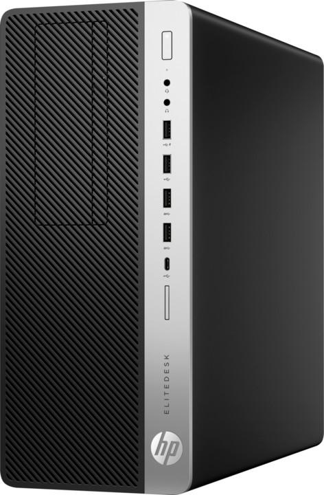 HP EliteDesk 800 G4 TW, černá