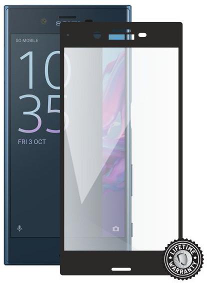 Screenshield Tempered Glass pro SONY Xperia XZ F8331, černá