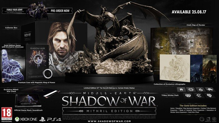 Middle-Earth: Shadow of War - Mithril Edition (PC)